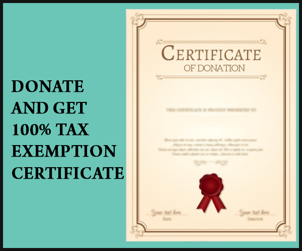 Tax Exemption Certificate
