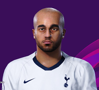 PES 2020 Faces Lucas Moura by Davidjm08