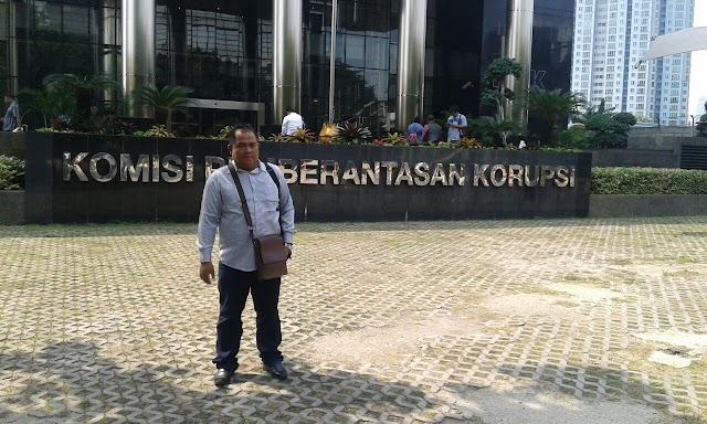 Irawadi Uska, SH. MH Laporkan Dugaan Korupsi di Kabupaten Kerinci ke KPK