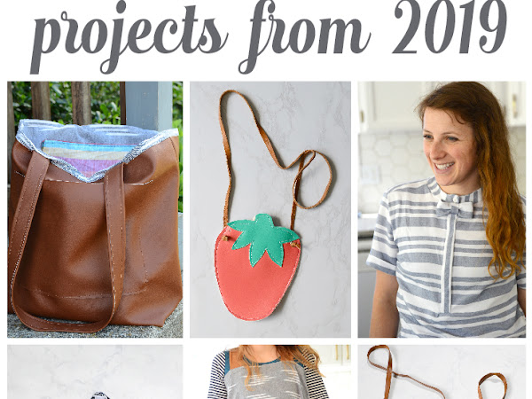 Top Sewing Projects from 2019