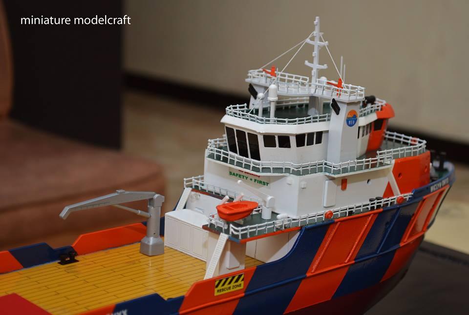 harga miniatur kapal ahts miclyn onyx murah rumpun art work planet kapal