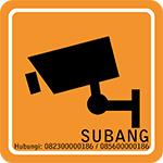 Jasa Pasang CCTV Subang, Tempat pasang cctv di subang, pemasangan kamera cctv di subang