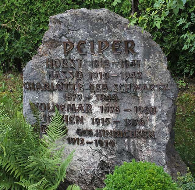 Joachim Peiper tombstone Third Reich graves worldwartwo.filminspector.com