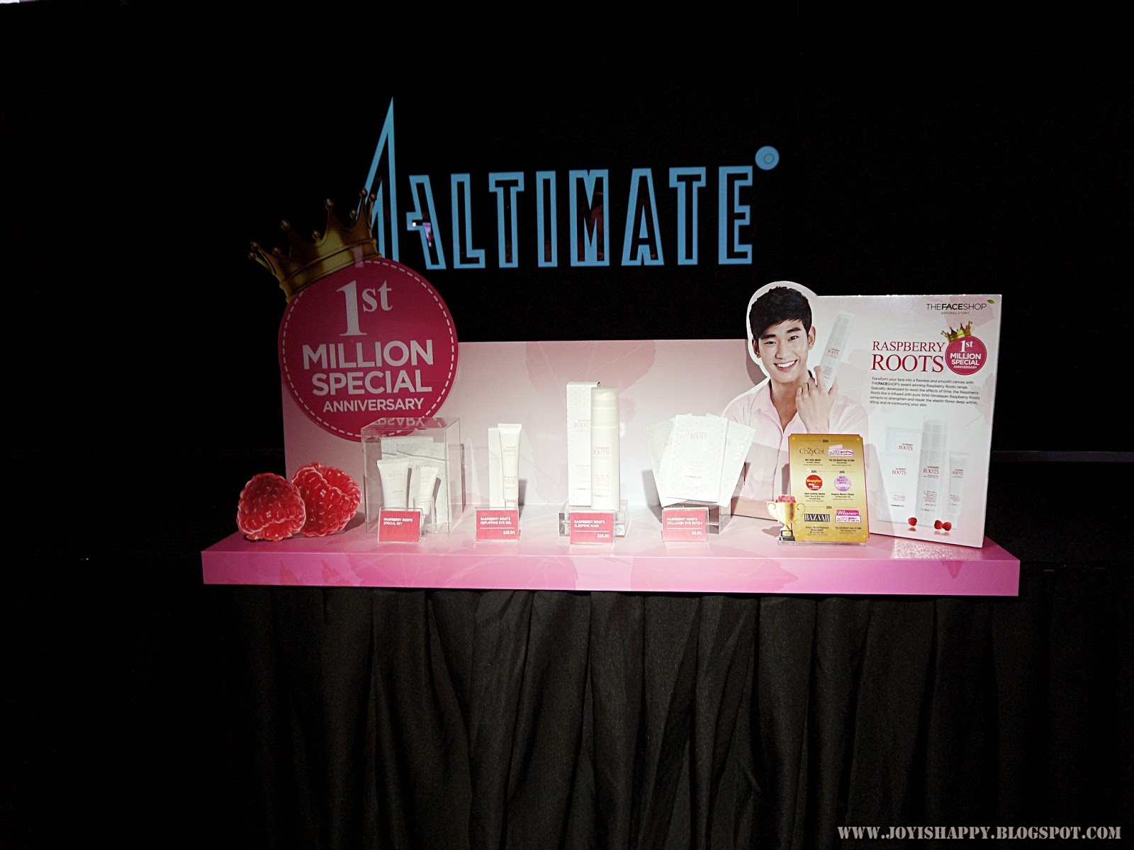 TheFaceShop Raspberry Roots 1st Million Special Anniversary