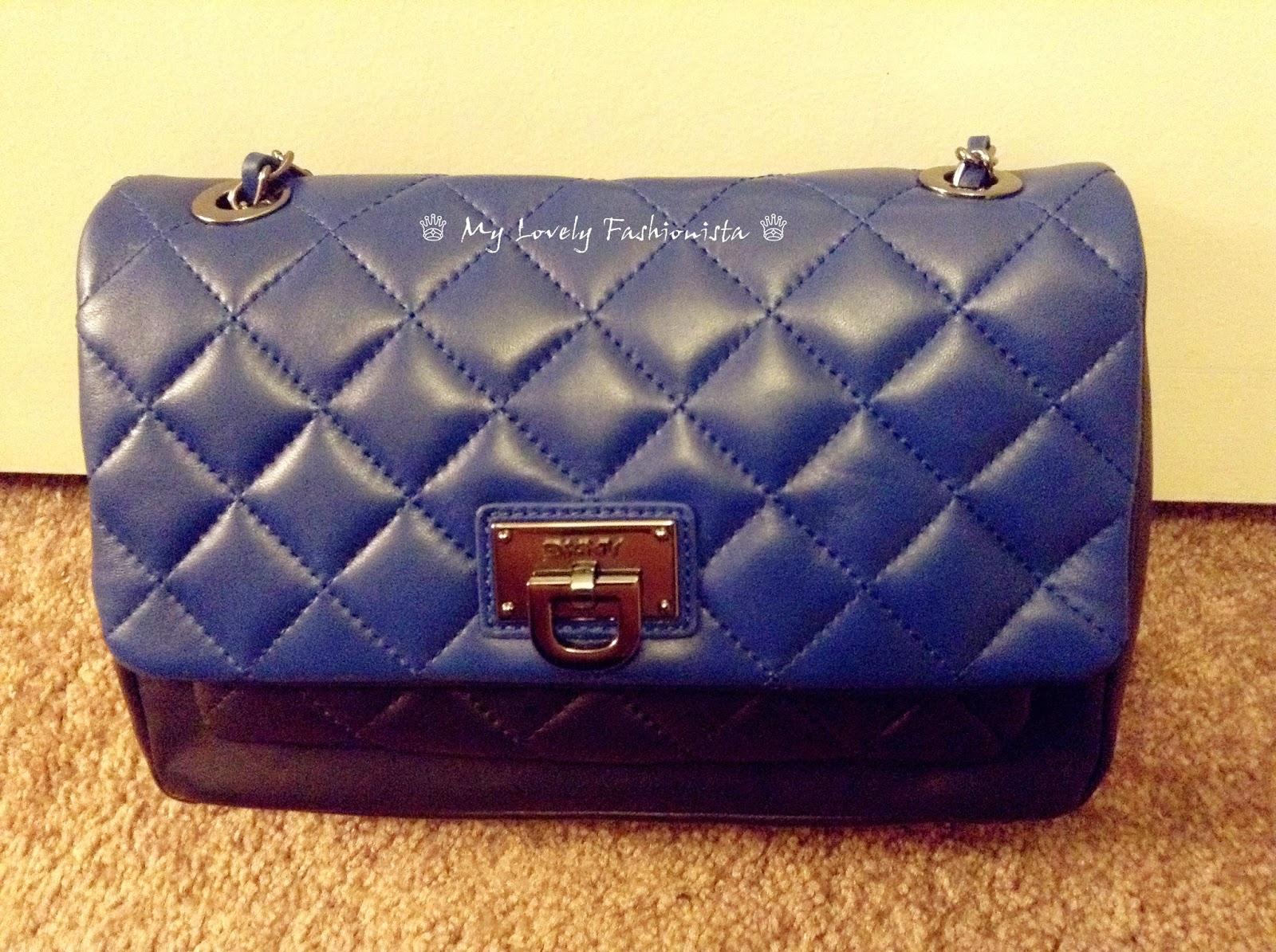 d55cd176e69 DKNY Shoulder Bag - Gansevoort Quilted Colorblock Flap Pocket