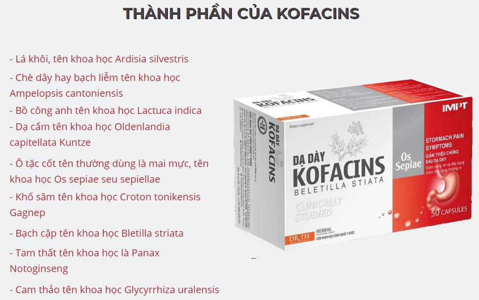 Dạ Dày Kofacins