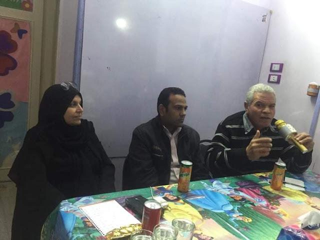 """""""نجاة عقيل تدعم أفكار الشباب في الصالون الثقافي للمواهب بسوهاج"""""""