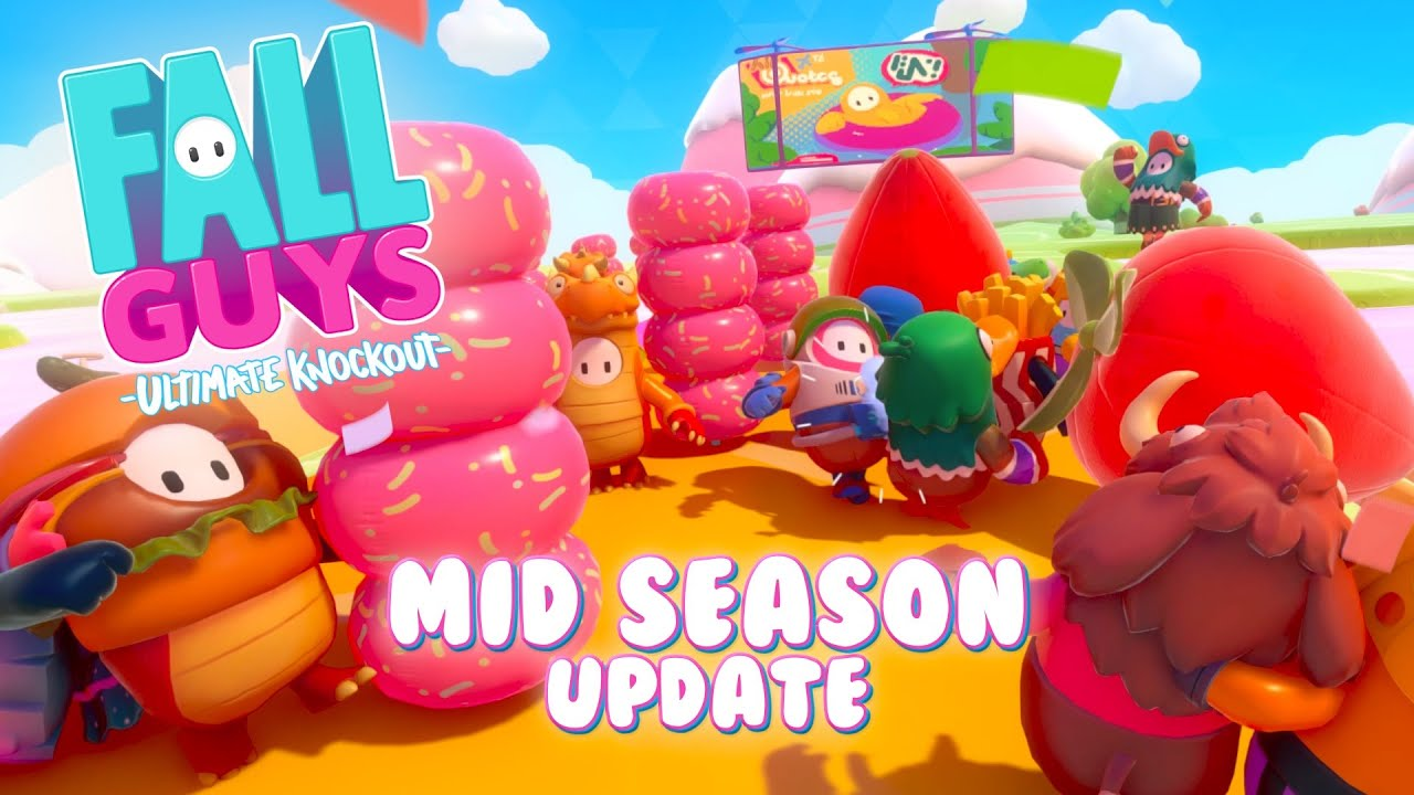 Fall Guys 'Season 2.5' update drops an all-new Round and the wildest obstacle remixes to date