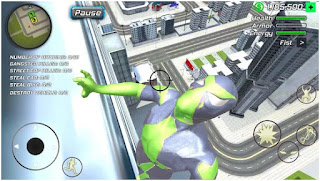 Rope Frog Ninja Hero - Strange Gangster Vegas Apk Mod