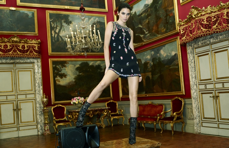 Kendall Jenner stars in Giambattista Valli x H&M campaign