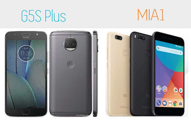 Xiaomi Mi A1 vs Moto G5S Plus
