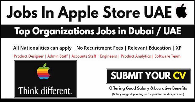 Latest Job Vacancies at Apple in UAE