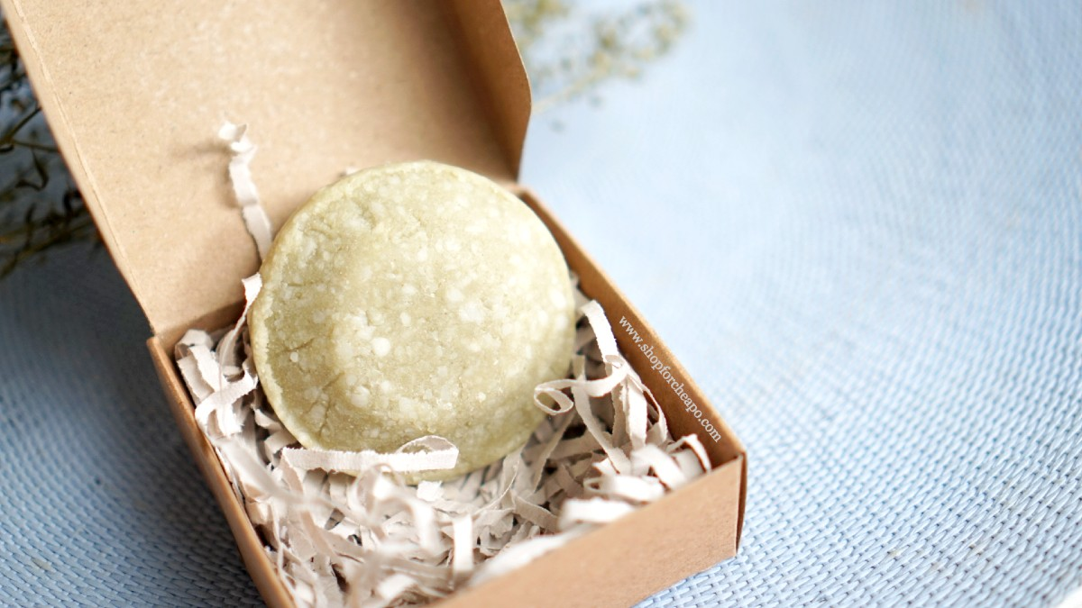 Review Shampoo Bar Lokal Indonesia Rose Matcha Seven Cactus