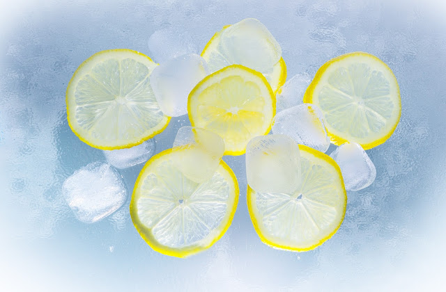 Lemon for Puffy Face