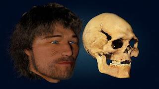 Uomo di Loschbour-ricostruzione facciale