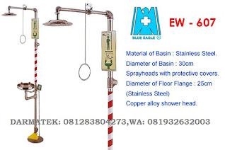Darmatek Jual Eye wash and Drench Shower Blue Eagle EW-607