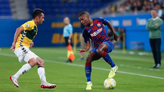 Barcelonal B team left back Sergio Akieme's Set to leave the club with 3 La Liga sides interested