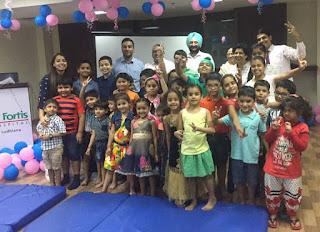 Fun Day Summer Camp organized at Fortis Hospital Ludhiana