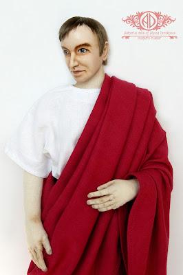 ADdoll_Filosof_2 Античный философ авторская текстильная кукла Алёны Дороховой