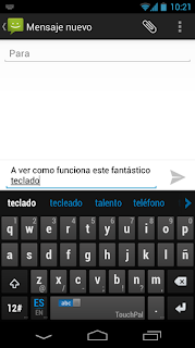 TouchPal X keyboard now available for Android smart phones and tablets, a whole new way of input
