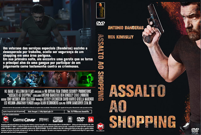 Capa DVD Assalto Ao Shopping [Exclusiva]