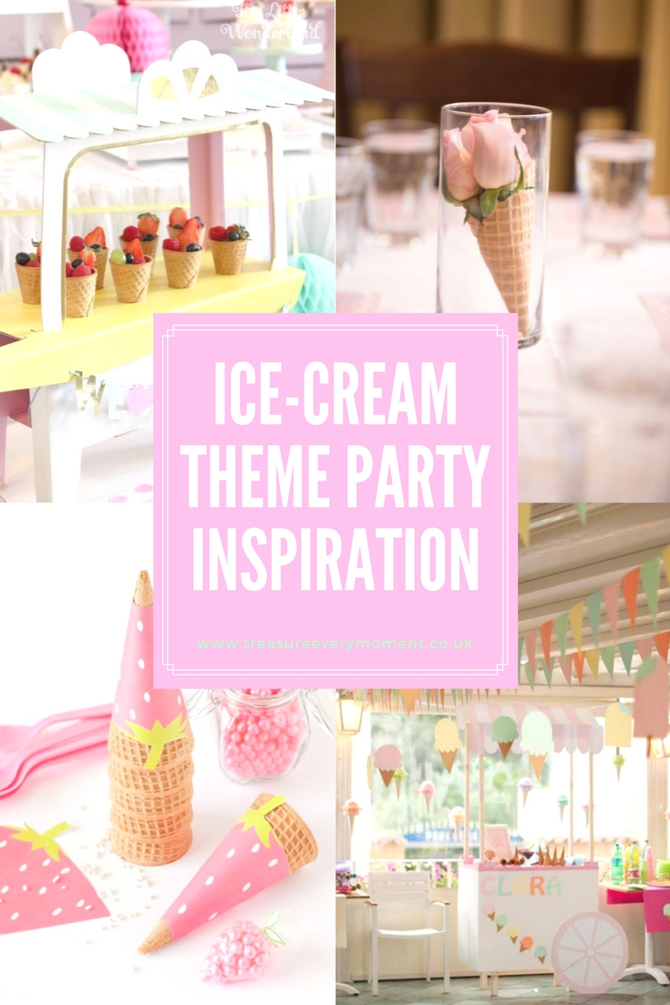 PARTY: Ice-Cream Theme Inspiration