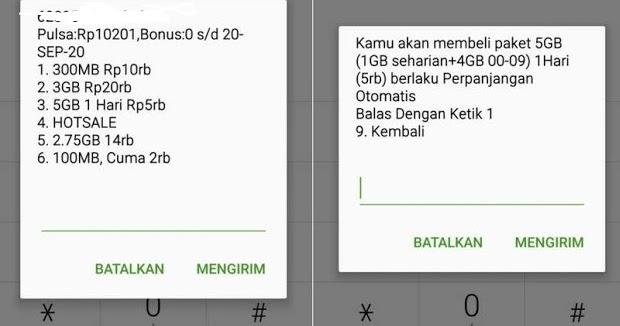 Cara Daftar Paket Internet Tri Harian 5gb 5000 Paket Internet