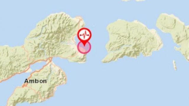 Ribuan Gempa Susulan Guncang Maluku