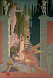 Panel 4. The Vengeance of Venus by Maurice Denis - Religious Paintings from Hermitage Museum