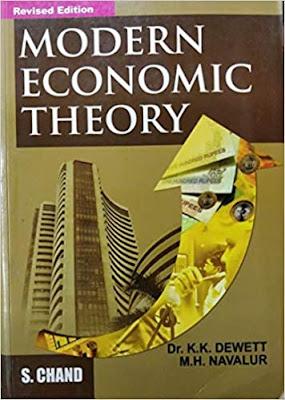 Modern Economic Theory pdf free download