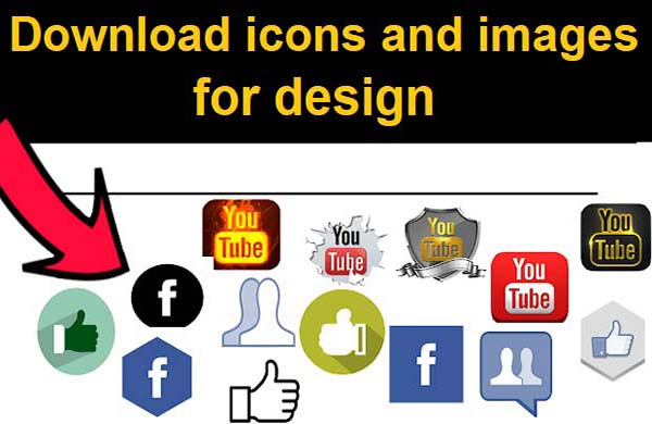 download icons and images for design