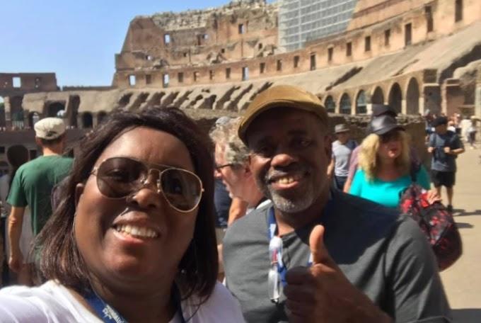 Juntos há 27 anos, casal realiza sonho de lua de mel pela Europa e viraliza nas redes sociais