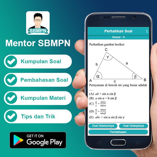 Aplikasi Soal UMPN dan Pembahasannya | Aplikasi Mentor Belajar UMPN
