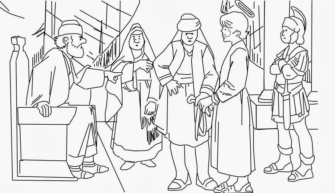 Contemporáneo Colorear El Bautismo De Jesús Fotos - Dibujos Para ...