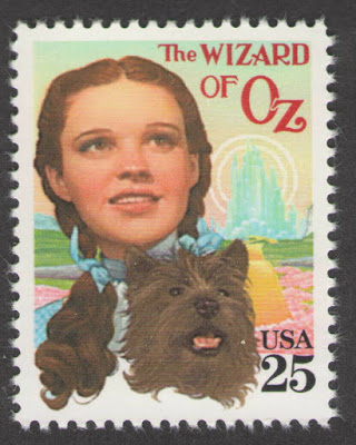 US. 25c. Judy Garland & Toto (The Wizard of Oz) Classic Film