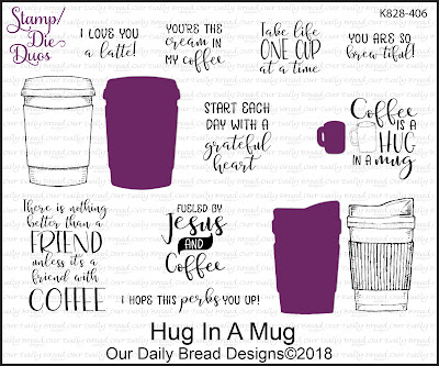 Stamp/Die Duos: Hug in a Mug