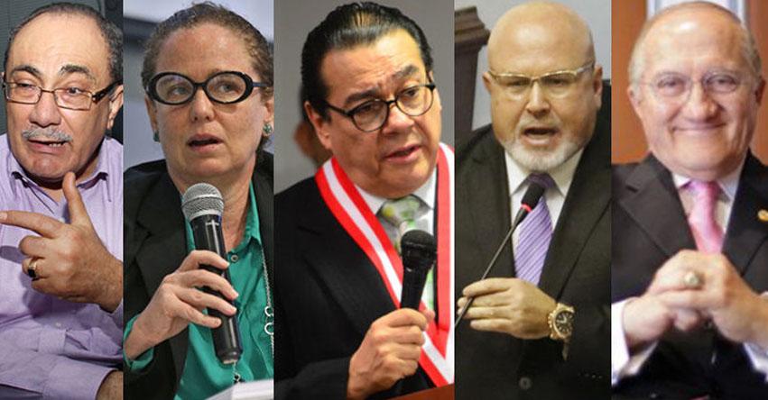 Conoce a los nuevos ministros que integrarán el Gabinete Aráoz