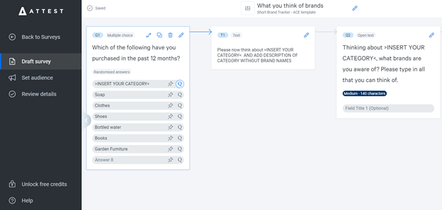 Conduct brand tracking surveys