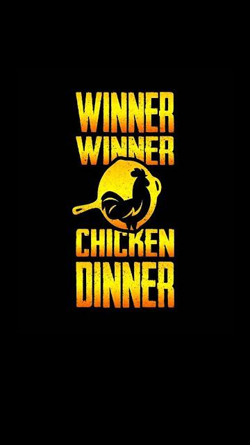 Laptop-BGMI-PUBG-Winner-Winner-Chicken-Dinner-4k-wallpaper