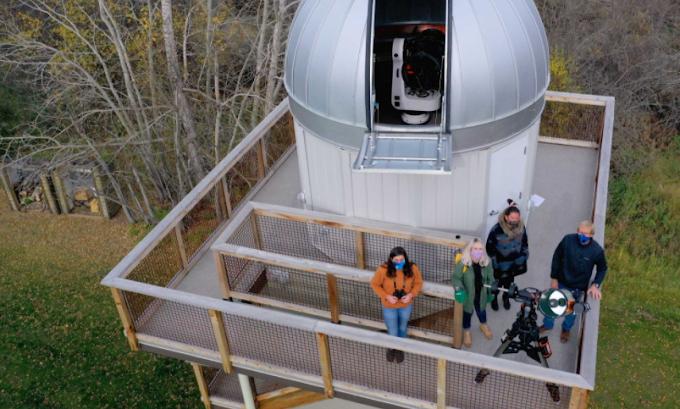 University of Alberta observatory enjoy the splendour of the night skies