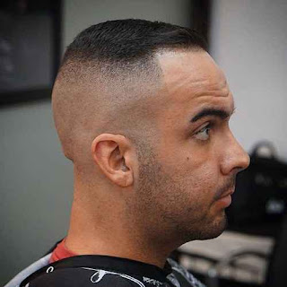 High Skin Fade Thin Hairstyle