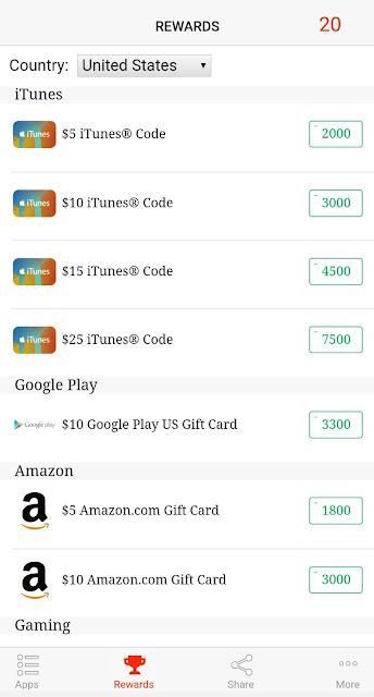 ربح بطاقات امازون - ربح بطاقات ايتونز - ربح بطاقات جوجل بلاي مجانا