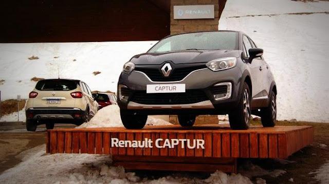 Renault Captur Winter Experience en Las Leñas