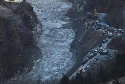 glacier burst
