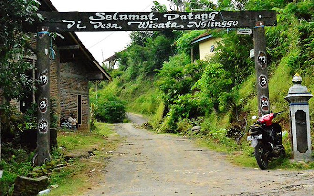 Gapura Desa Wisata Nglinggo