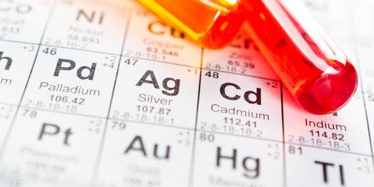 Kandungan mineral kimia unsur