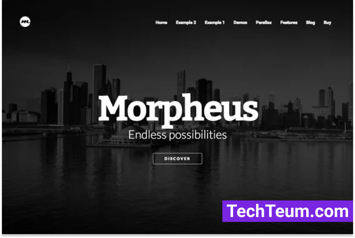 Morpheus by Collision (Themeforest)