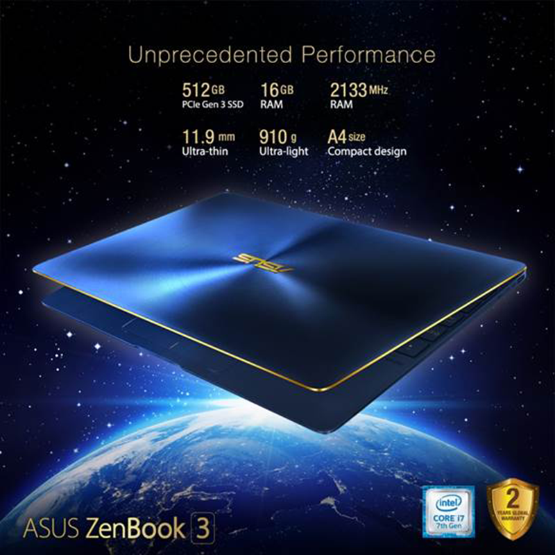 Asus ZenBook 3 Now In PH, A Sleek Notebook Priced At PHP 79995!