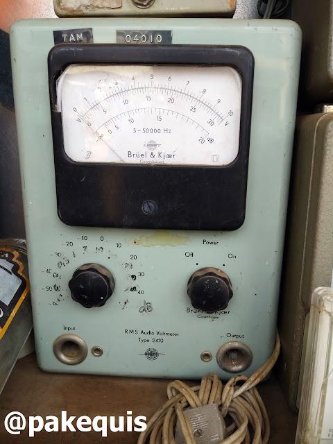 Medidor de áudio RMS