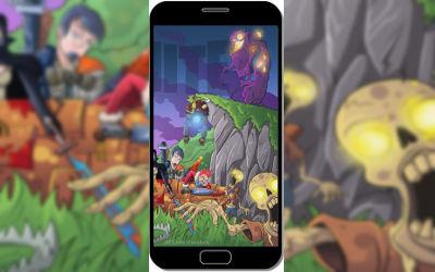 Fortnite Battle Royale Artwork Zombie - Fond d'Écran en FHD pour Mobile